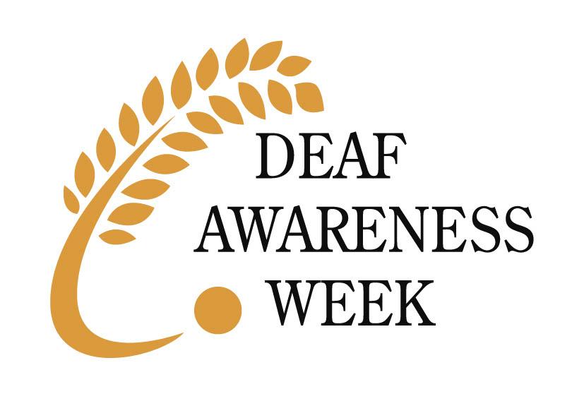 logo deaf awareness week